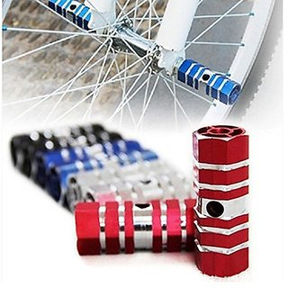 Footrest Stand Stunt Pegs 2 x BMX Mountain Road Bike Bicycle 2018 New Front Rear Wheel Axisl