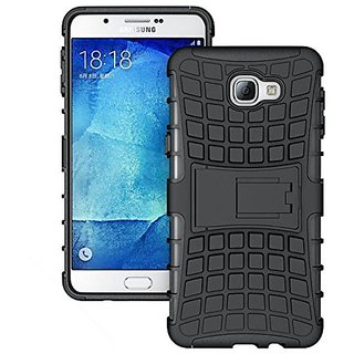 Samsung J7 Pro Defender Back Cover with Kick Stand