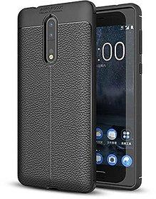 Nokia 6 Flexible Black Auto Focus Back Cover black