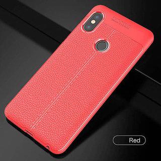 REDMI NOTE 5 PRO-  auto focus cover red