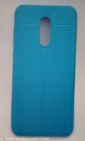 For Redmi Note 5 - Auto Focus Latest Design Soft Back Cover blue
