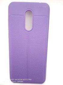 For Redmi Note 5 - Auto Focus Latest Design Soft Back Cover purple