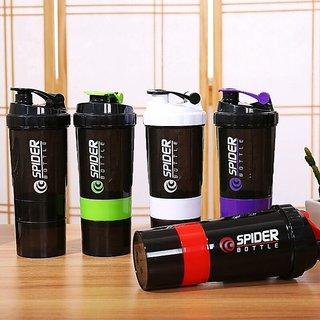 Nutri Spider Bottle Protein Shaker Sports Bottle Milk Shaker  1 pc