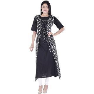 Desier short sleeve Cotton kurti with jecket