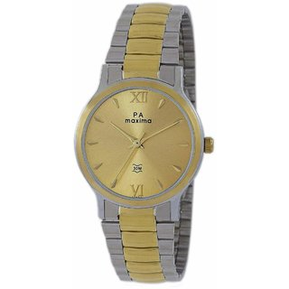 Maxima GOLD COLLECTION Men's Watch 47950CMGT