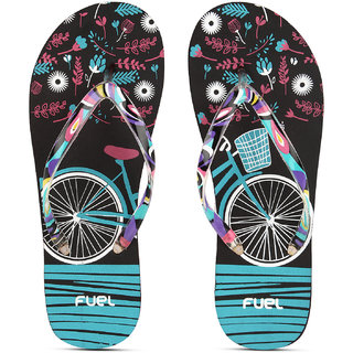17d9fe454 Buy FUEL Women s Comfortable Soft Strap House Beach Slippers Flip Flops for  Girls Online   ₹179 from ShopClues