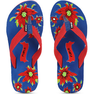 7d6f555bb6b68 FUEL Women s Comfortable Soft Strap House Beach Slippers Flip Flops for  Girls