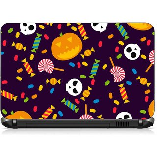 VI Collections MULTI SHAPE CHOCOLATE pvc Laptop Decal 15.6