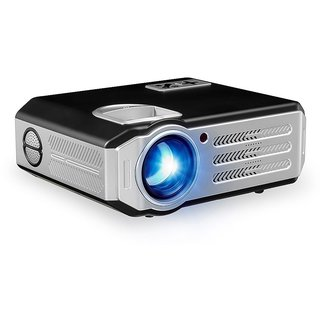 Wowoto WX 12 Smart WiFi Bluetooth HD 3D LED 3500 Projector 180 Display for Home/Education/Office with 2 Years Warranty