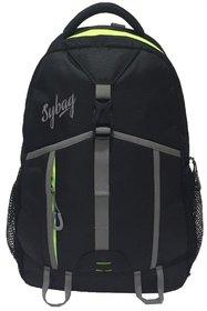 Sybag Grey Black Bagpack