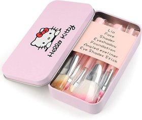 Hello Kitty Makeup Multipurpose Brushes - Set of 7