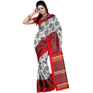 SURAT PRINCE Art Silk Fancy latest designer art silk saree for womens