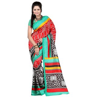 SURAT PRINCE Art Silk Fancy latest saree for womens designer art silk