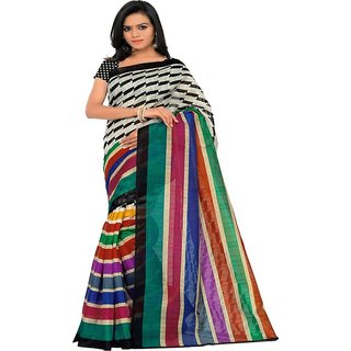 SURAT PRINCE New Bhagalpuri Fancy latest designer Bhagalpuri saree for womens