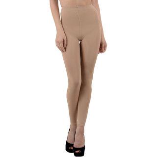 Nxt 2 Skin Ladies Footless Stocking Pantyhose, Women's Leggings Tights - Skin
