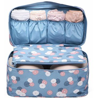614239058e27 House of Quirk Women's Bra Storage Bag For Underwear Clothes Lingerie  Organizer Suitcase Case Waterproof Cosmetic Pouch Travel Accessories