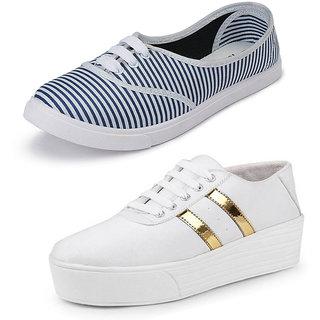 Bersache Women/Girls Combo Pack-2 Casual Shoes
