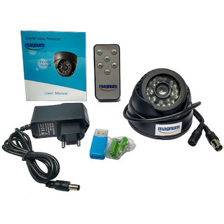 Magnum Elite BNC Interface  Night Vision CCTV Camera with inbuilt DVR with memory card recording slot