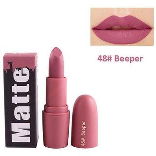 Miss Rose Hot And  Soft  Cream Matte Lipstick Shade - 34