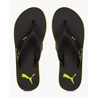 3df1c751d64f Buy Puma Men s Green and Black Flip Flops Online - Get 69% Off