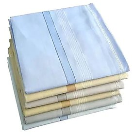 Concepts 100% Cotton Handkerchief Pack of 6 (Assorted)