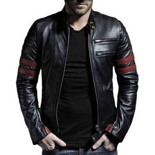 Pu Leather  Winter  Casual wear Biker Jacket For Men  Boys