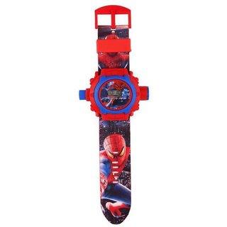 Spiderman 24 Phot Cartoon Watch For Boys