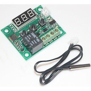 E69 DC12V -50C Cool 110C Hot Digital Thermostat Temperature Control Switch 220V
