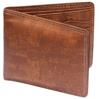 Brown Single fold Wallet