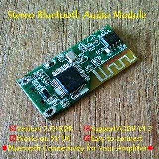BTM DC 5V Wireless Stereo Bluetooth Music Audio Receiver Decoder Module Board