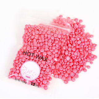 Konsung Beauty Hot Wax Beans Natural Hair Removal Bean (Pink) 100 g