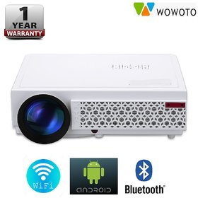 WOWOTO H8 2500 Lumens Android WiFi Bluetooth Hd 1280X80