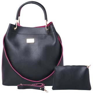 4664cb7b4e30 Buy Dutty Fashion Women s Handbag And Shoulder Bag Combo Online - Get 60%  Off