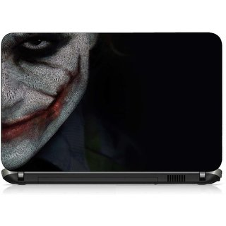 VI Collections JOKER FACE pvc Laptop Decal 15.6