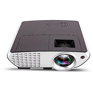 WOWOTO H7 Projector 2000 lumens led Projector with HDMI / AV / VGA / USB / TV with 2 Year Warranty