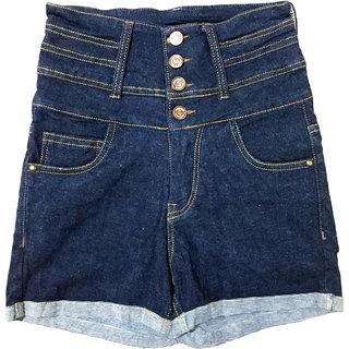 High waist hot shorts