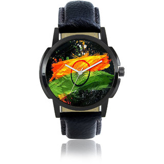 R P S fashion new looked  lether strep men watch 6 month warranty