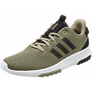 Adidas Mens CF Racer TR Olive Sneakers
