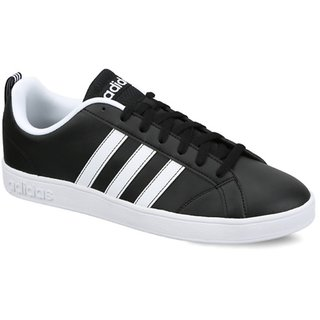 Adidas Mens VS Advantage Black Sneakers