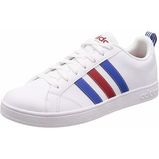 Adidas Mens VS Advantage White Sneakers