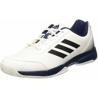 Adidas Mens Racquettes Tennis Shoes White Sports Shoes