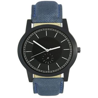 R P S Fashion black  dial l-for-men-watch-new look 6 month warranty