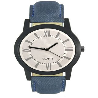 R P S fashion new looked bauetiy lether strep men watch 6 month warranty