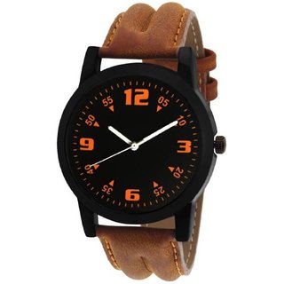 R P S fashion new looked brown to black staylish men watch