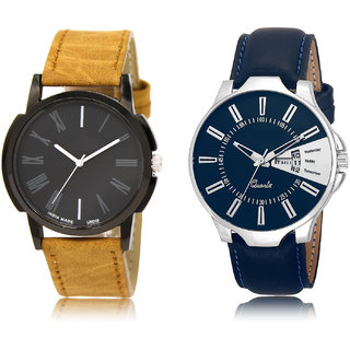 The Shopoholic Black Blue Combo Fashionable Fancy Collection  Black And Blue Dial Analog Watch For  Boys Watch For Mens