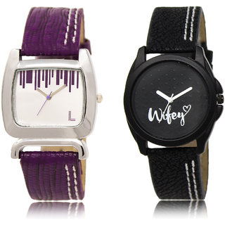 The Shopoholic Silver Black Combo New Stylist Latest Silver And Black Dial Analog Watch For  Girls Girls Watch Stylish