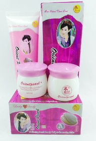 Orient Pearl Whitening Spot Removing Day+Night Cream  Facewash Rresult in just 7 days guaranteed.