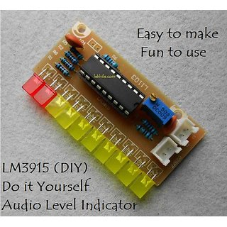 E29 LM3915 DIY Audio Level Indicator Kit Electronic Sound VU Meter Components
