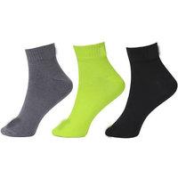 Branded Men Pack of 3 Ankle Length Half Terry Socks