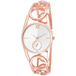 R P S fashion new looked to rose gold staylish girl  watch 6 month warranty